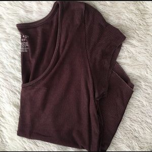 American Eagle soft and sexy ribbed tee